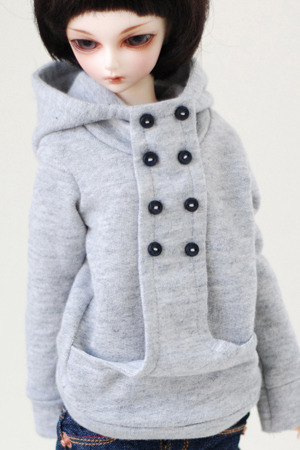 Chic Hooded-T - Gray