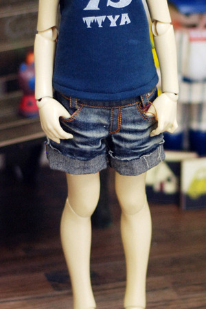 Vintage Washing Short Jean